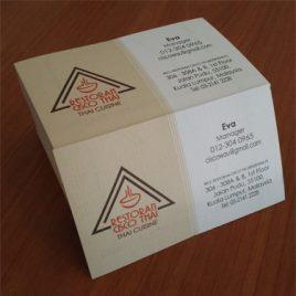 Linen Name Card