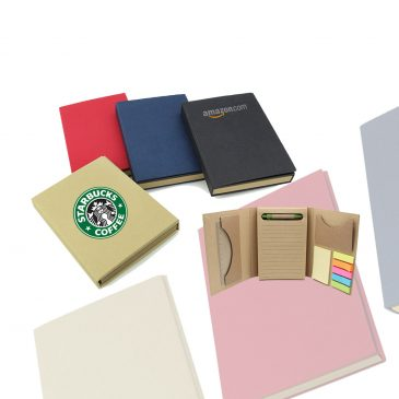 5 in Tri- Fold Eco Notepad