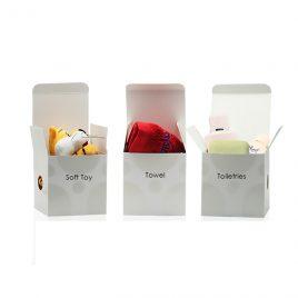 White Box with one color spot UV design