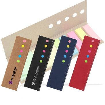 Eco Sticky Notes With Ruler