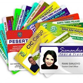 ID card – Digital print on pvc