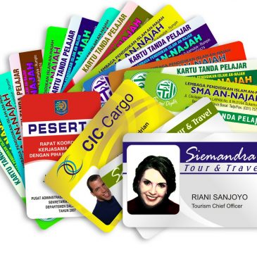 ID card – Digital print on pvc