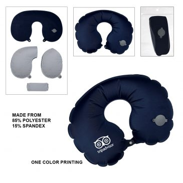 BLOOM Inflatable Travel Pillow