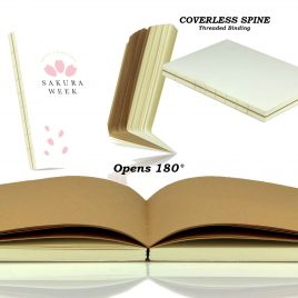 MAPLE – Exposed Spine Notebook (Plain)