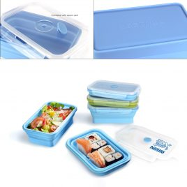 Silicone Lunch Box (800ml)