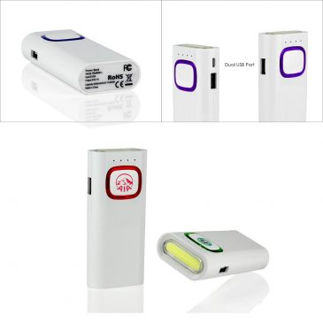 GLOW POWERBAR Power Bank (4400mAh)