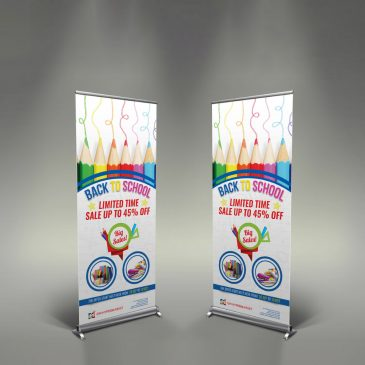 Roll Up Bunting Stand