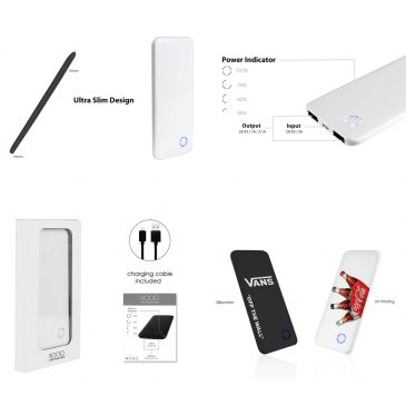 (5000mAh) TONY – Li-Polymer Power Bank