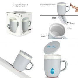 VITALITY SKY – Ceramic Suction Mug (260ml)