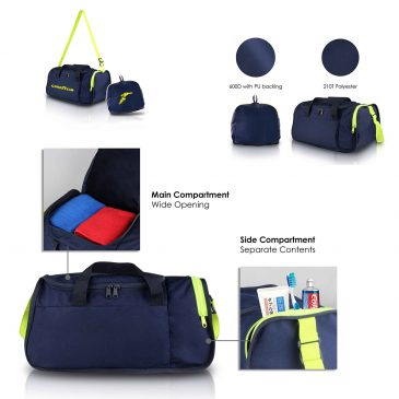 FLOW – Foldable Duffle Bag