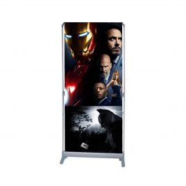 Auto Scroll Banner Stand