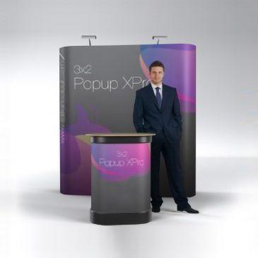 Pop Up Display- Straight 3×2