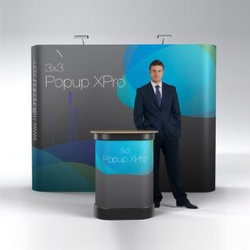 Pop Up Display- Straight 3×3