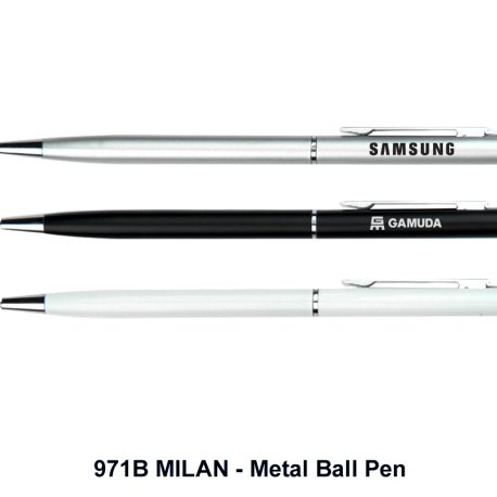 MILAN - Metal Ball Pen - 971B