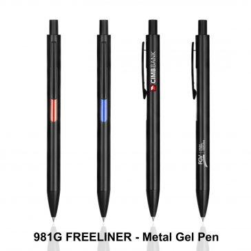 FREELINER - Metal Gel Pen - 981G